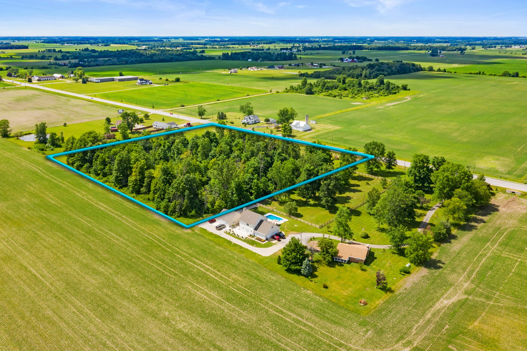 Acreage for Sale Farmland, IN