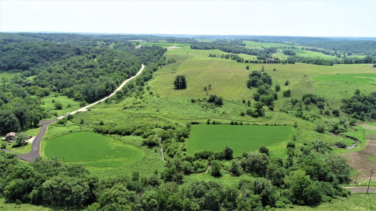 Stunning Build Site with Trout Creek Frontage Iowa County WI