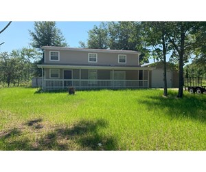 Country home on 20 acres for sale in North Florida!