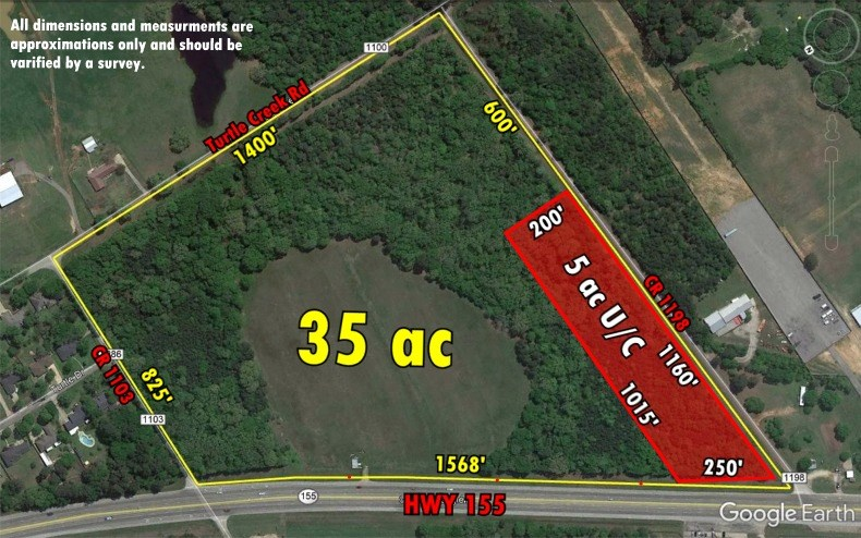 5 ACRE TRACT HIGHWAY 155 FRONTAGE