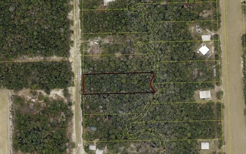 """2 Acres backing up to """"Little River Creek"""" in private area"""
