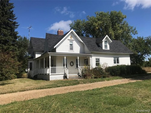 Incredible Imlay City 80 Acre Farm with Lakes