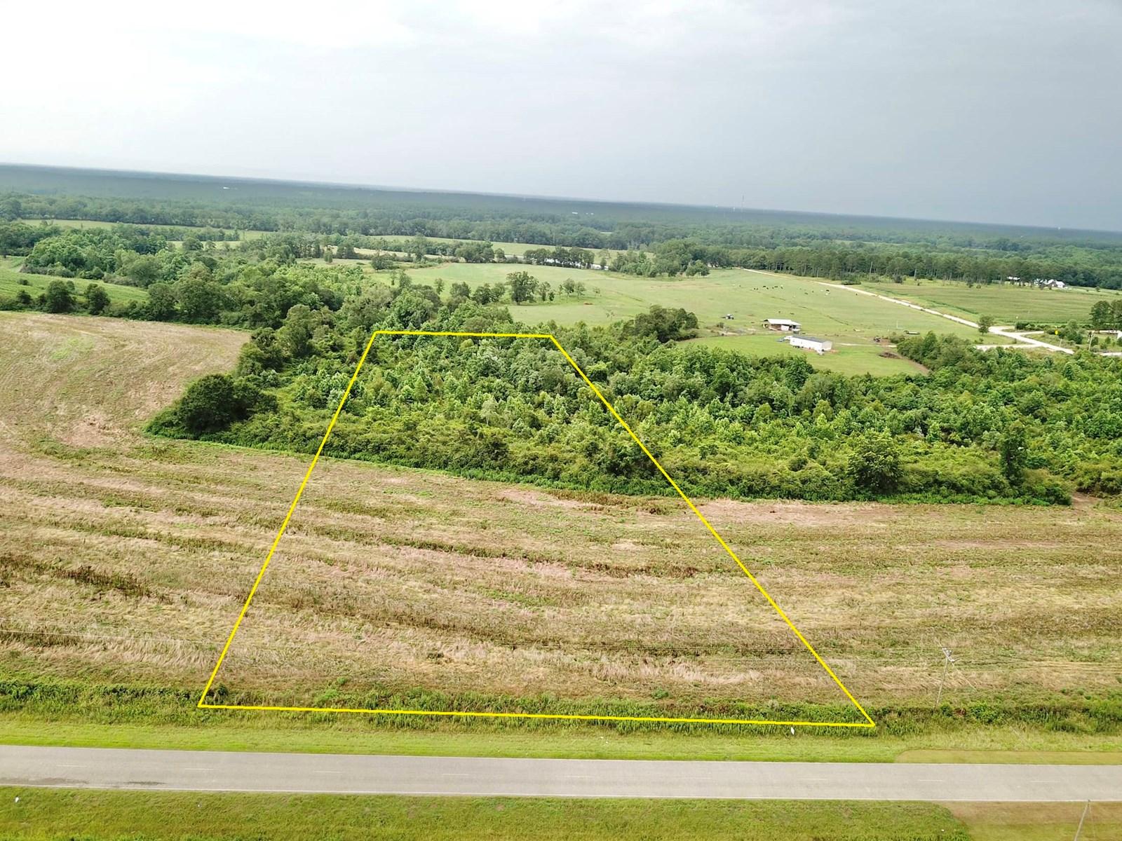 7 acres land for sale, Opp, Alabama
