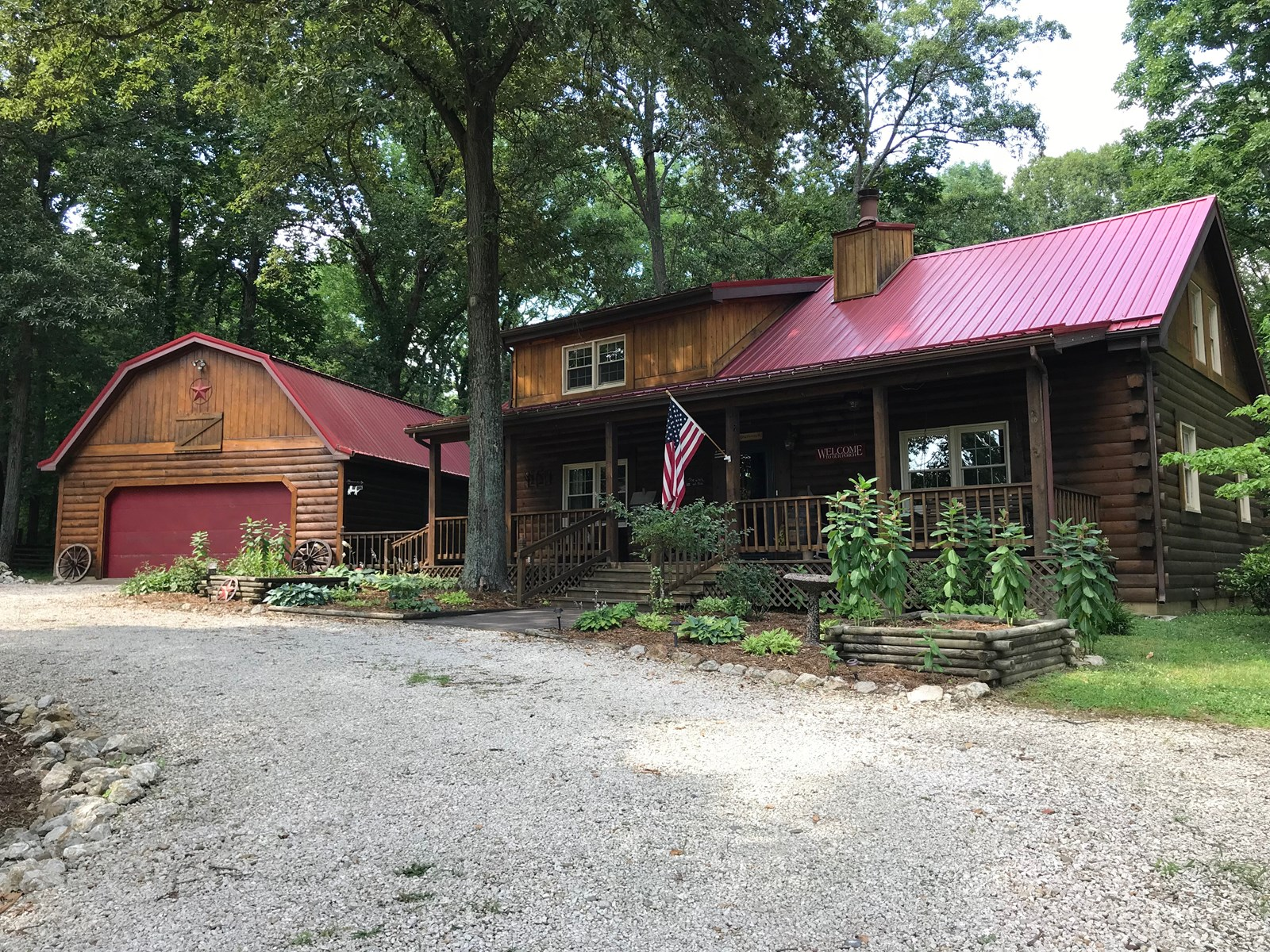 Beautiful 3 Bedroom, 2 Bath Log Cabin Home, Robinson, IL