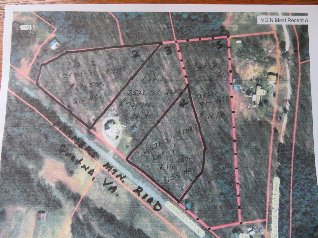 Over 2.5 +/- acres in Gretna, VA: Pittsylvania County