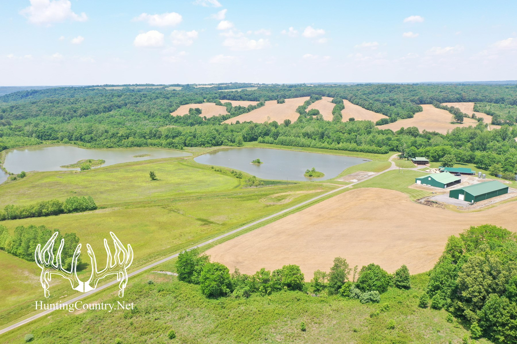 900 Acre Kentucky Hunting Ranch & Private Retreat For Sale