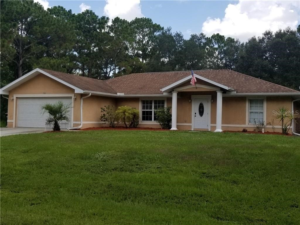3 bedroom 2 bath  CBS home in North Port, FL!
