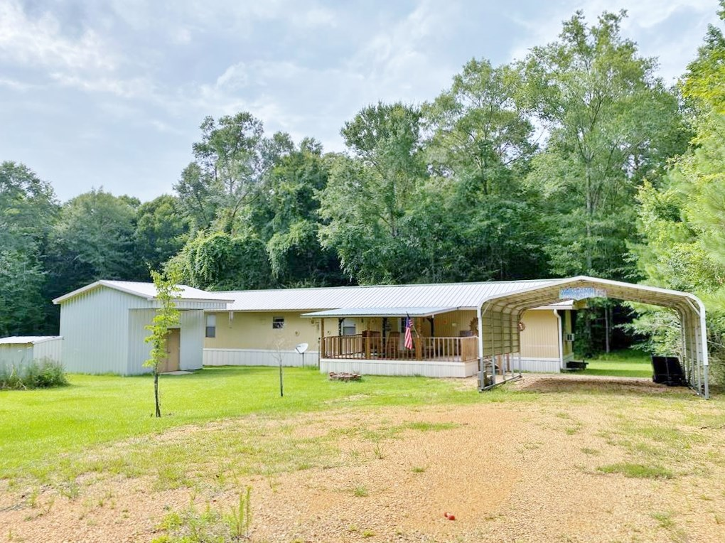 16 Acres, 3 Bed/2 Bath Mobile Home for Sale, Lincoln Co, MS