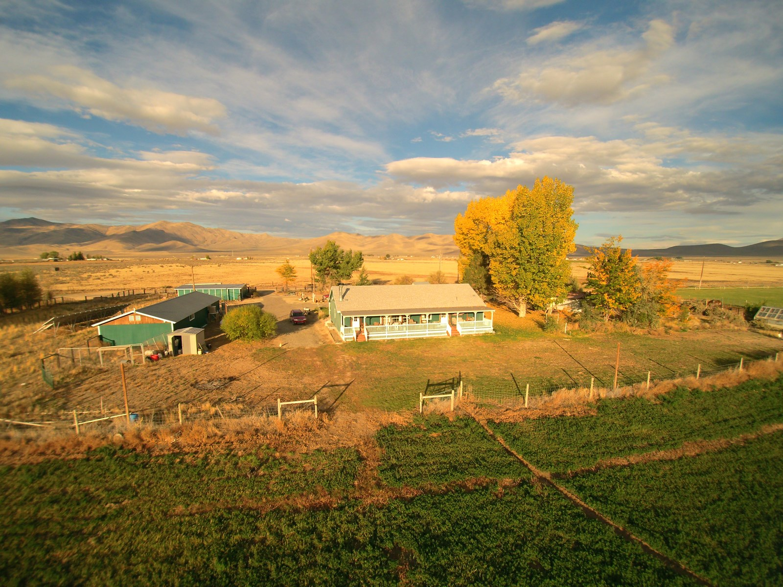 Nevada, Winnemucca hay farm, cattle ranch for sale