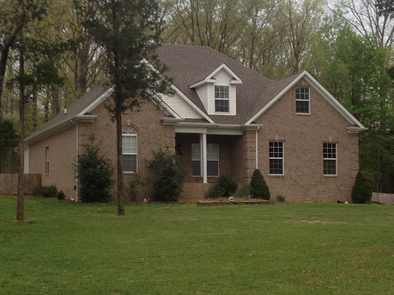 4 Bedroom 3 Bath brick home for sale near Bowling Green, Ky.