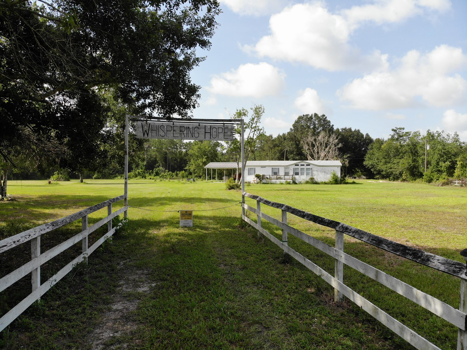 3 br 2 ba Home on 11.52 Acres!