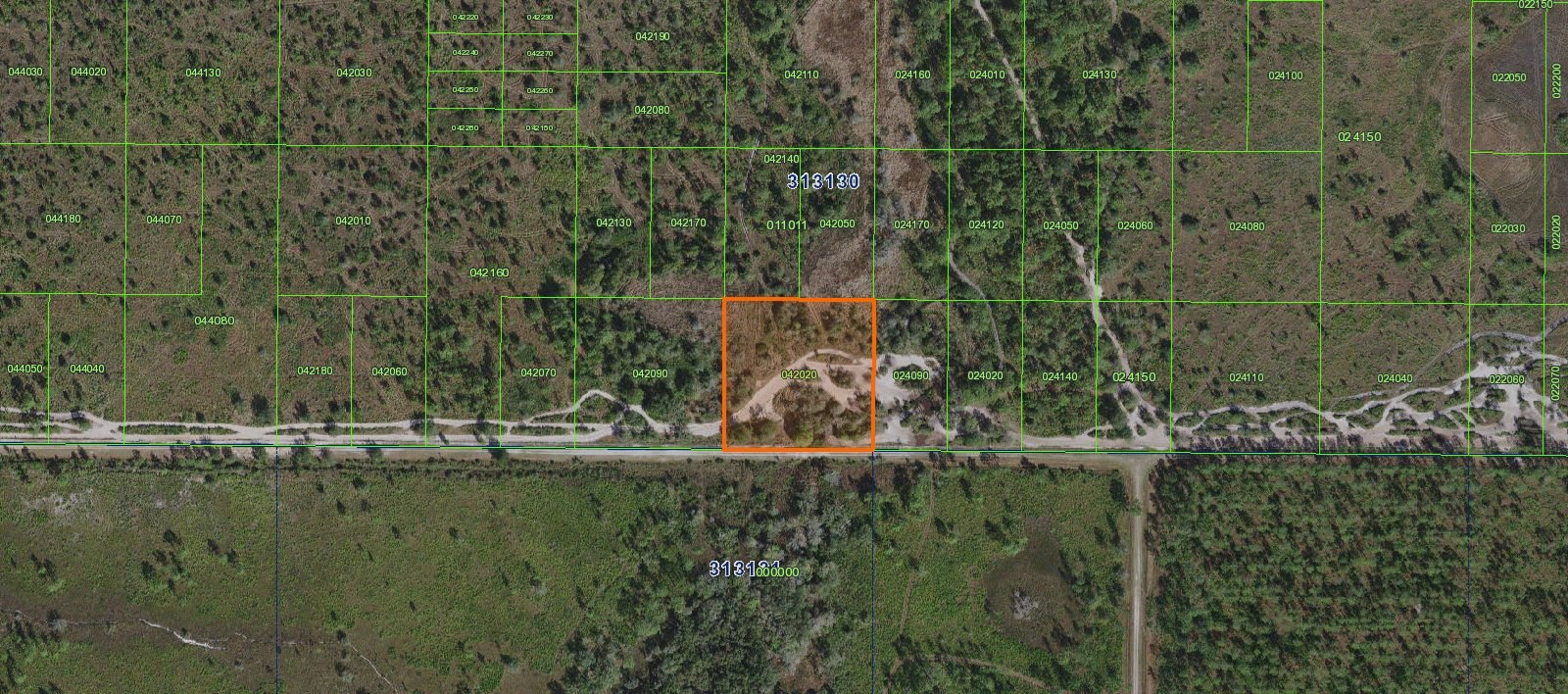 RIVER RANCH HUNTING GROUNDS, 2.53 ACRE TRACT, HUNT AND CAMP