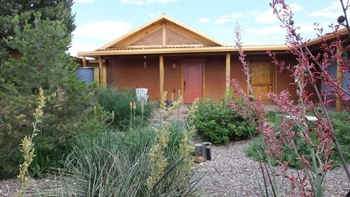 Eco-Friendly, Straw Bale, Hacienda Style Home