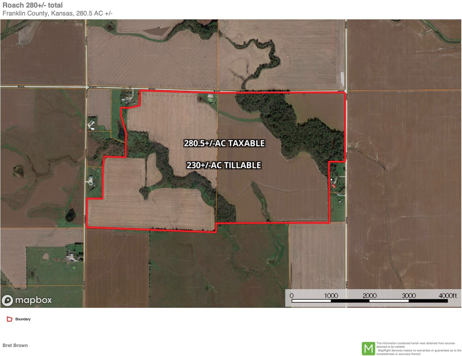 Farm for sale  Franklin County Kansas
