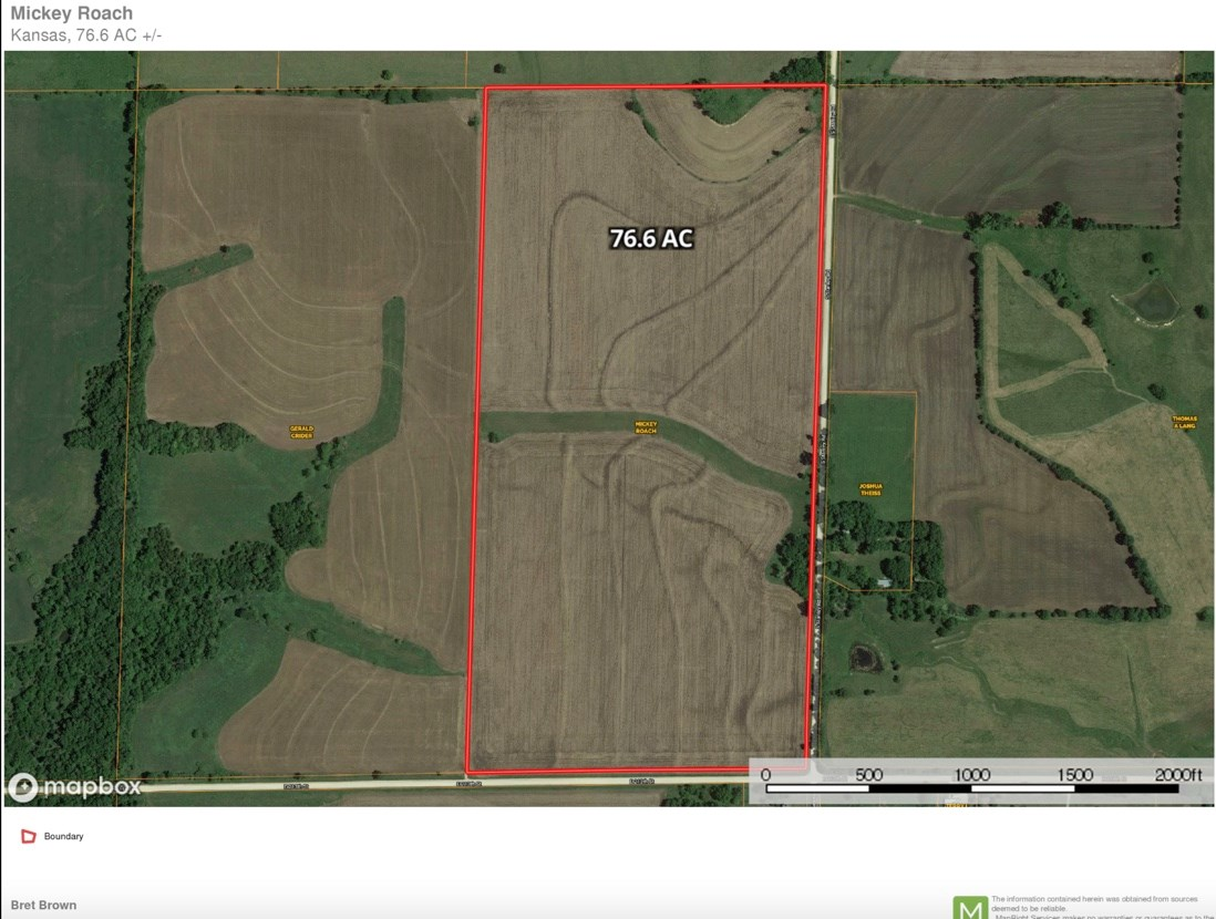 Land For Sale Osage County Kansas