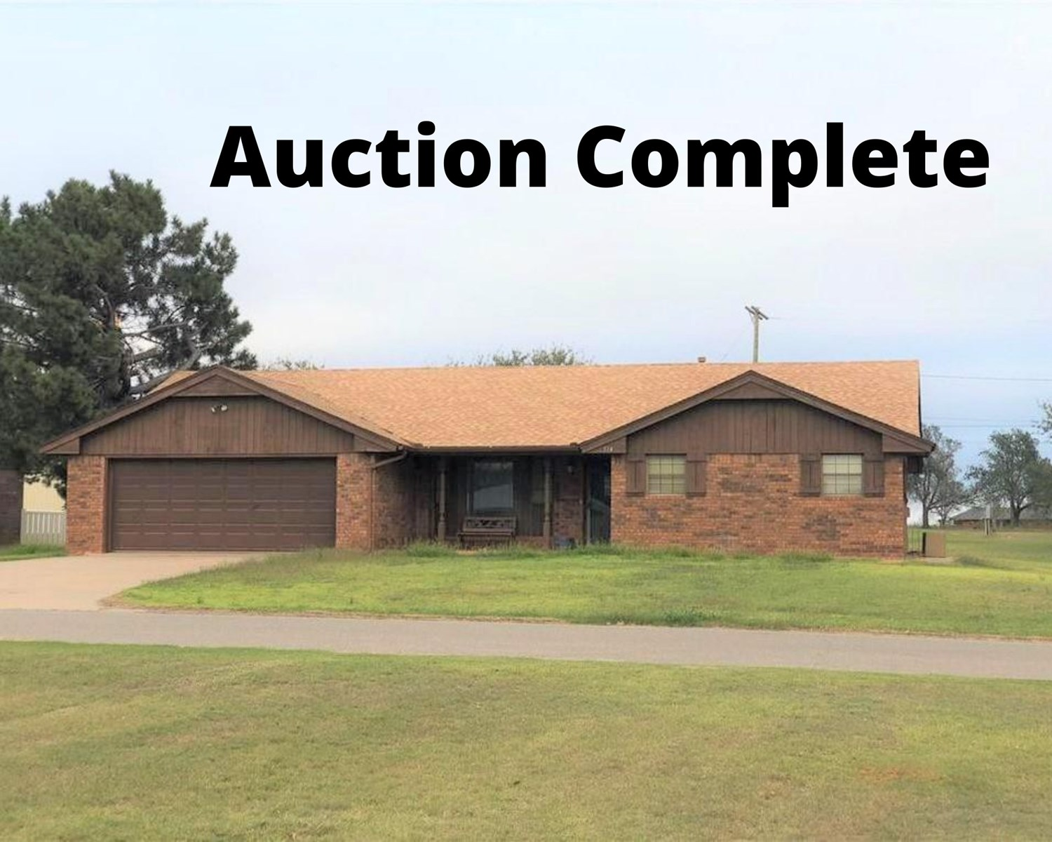 Country home for sale in Butler, OK Custer County