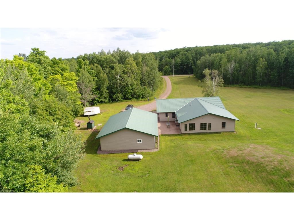 Country Home for Sale on Acreage in Sturgeon Lake, MN