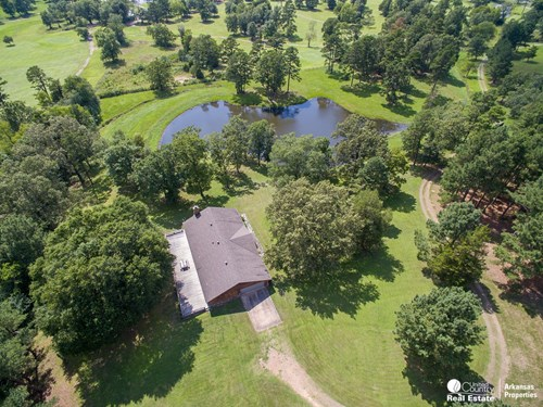 Home on Golf Course In Arkansas