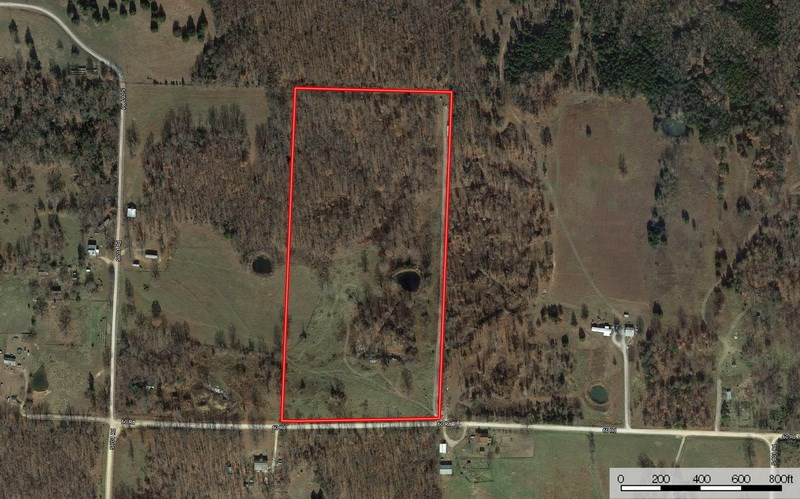Secluded Country Acreage  For Sale in Cedar Co, MO