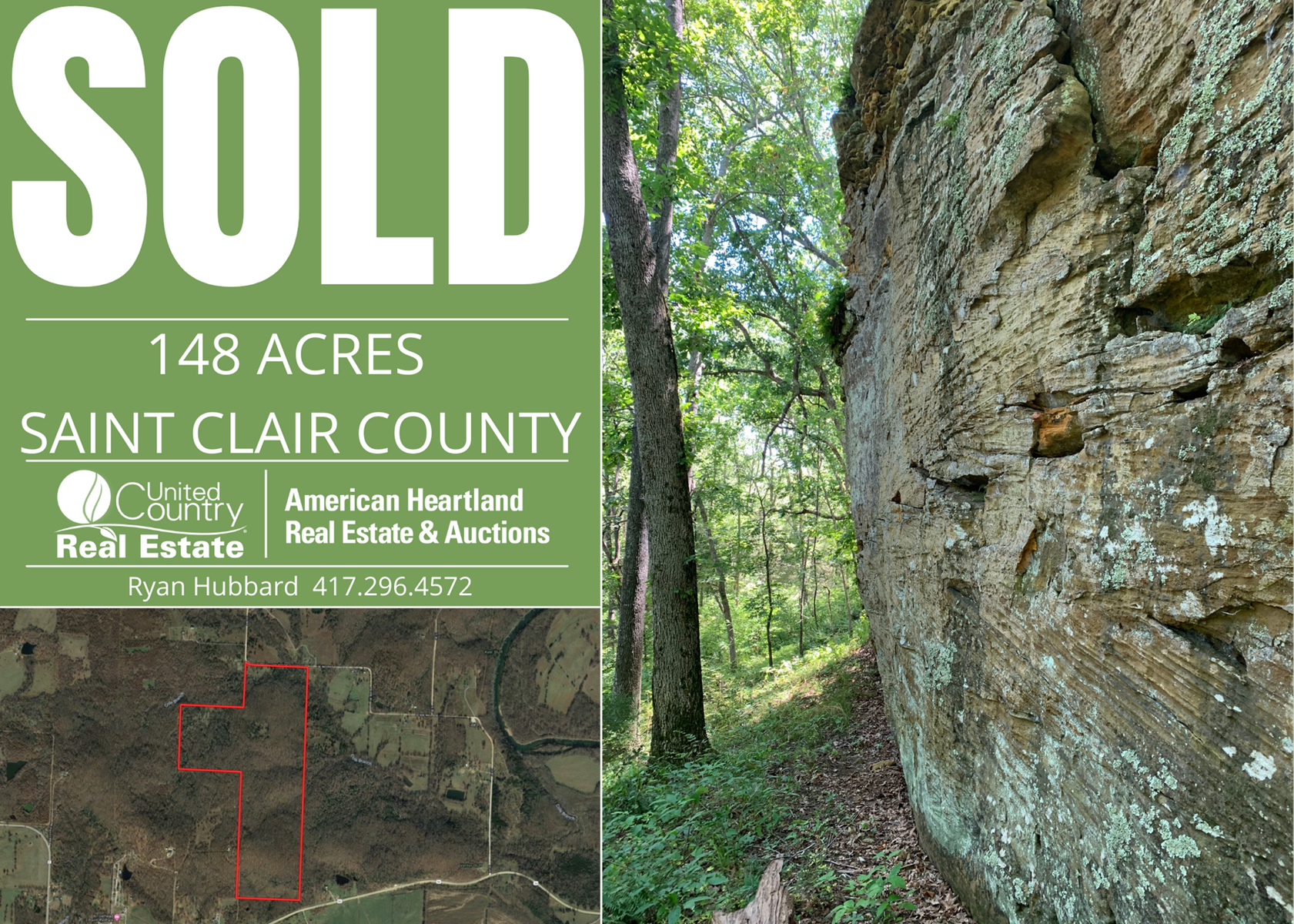 Hunting Land For Sale in St. Clair Co, MO