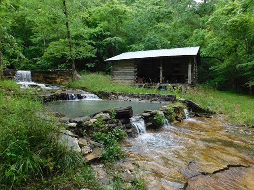 Large Hunting Recreational Land Cave Cabins Spring For Sale