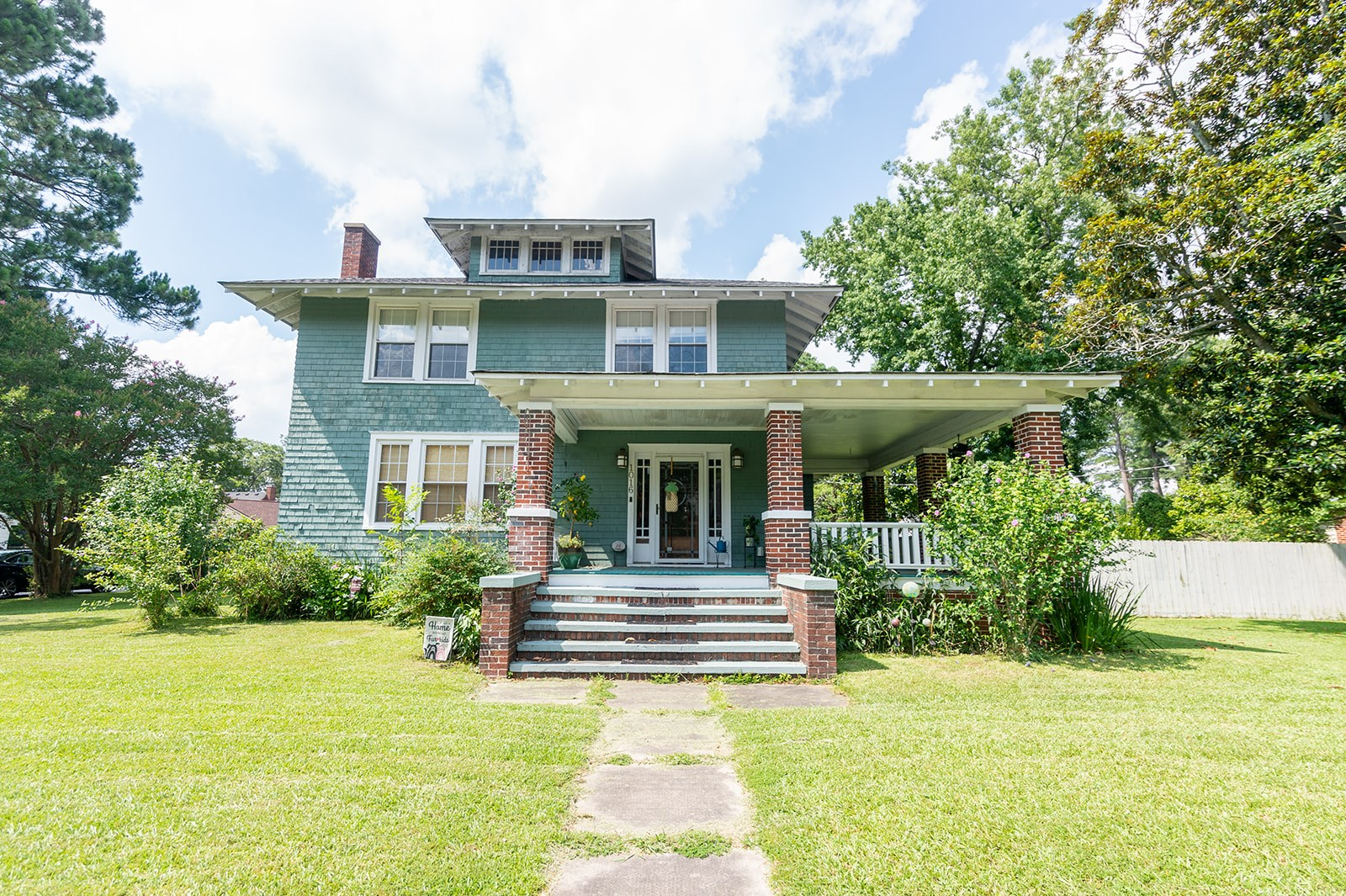 Four Square Historic Home For Sale in Elizabeth City NC