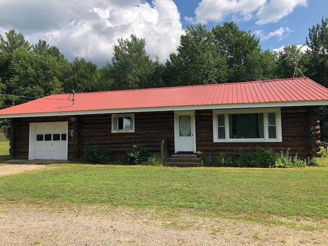 Log Home on 7 Acres in Southern Adirondacks