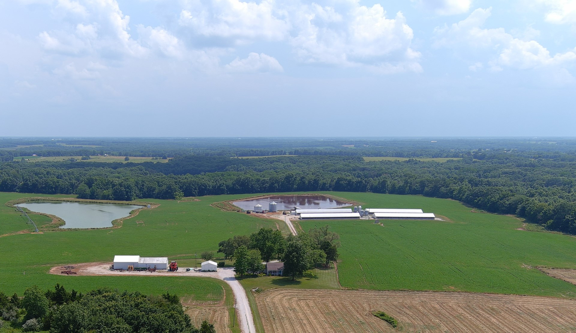FARMLAND FOR SALE in NORTHEAST MISSOURI WITH BEAUTIFUL VIEWS