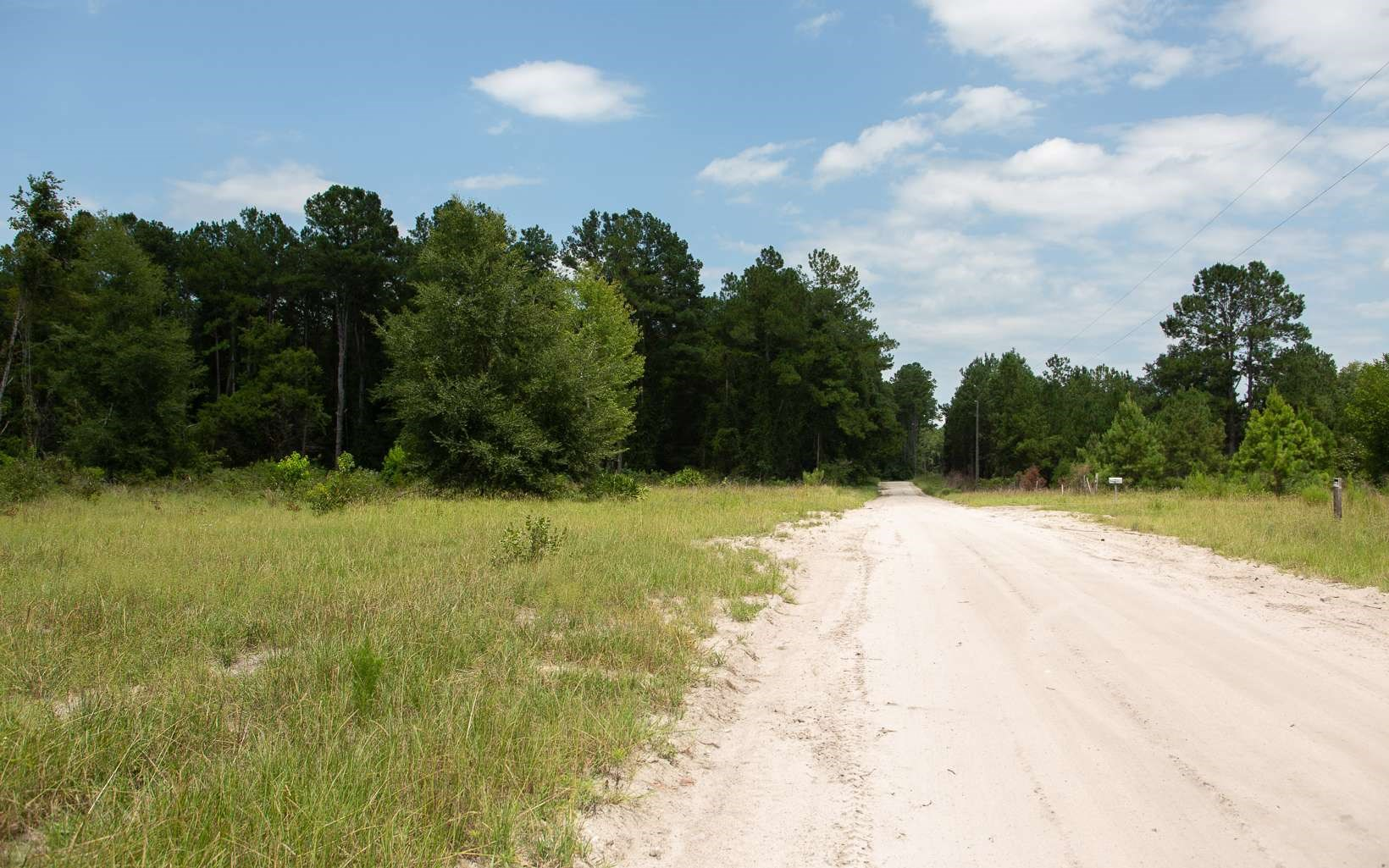 A popular boat ramp on the Suwannee river lies this 10 acres