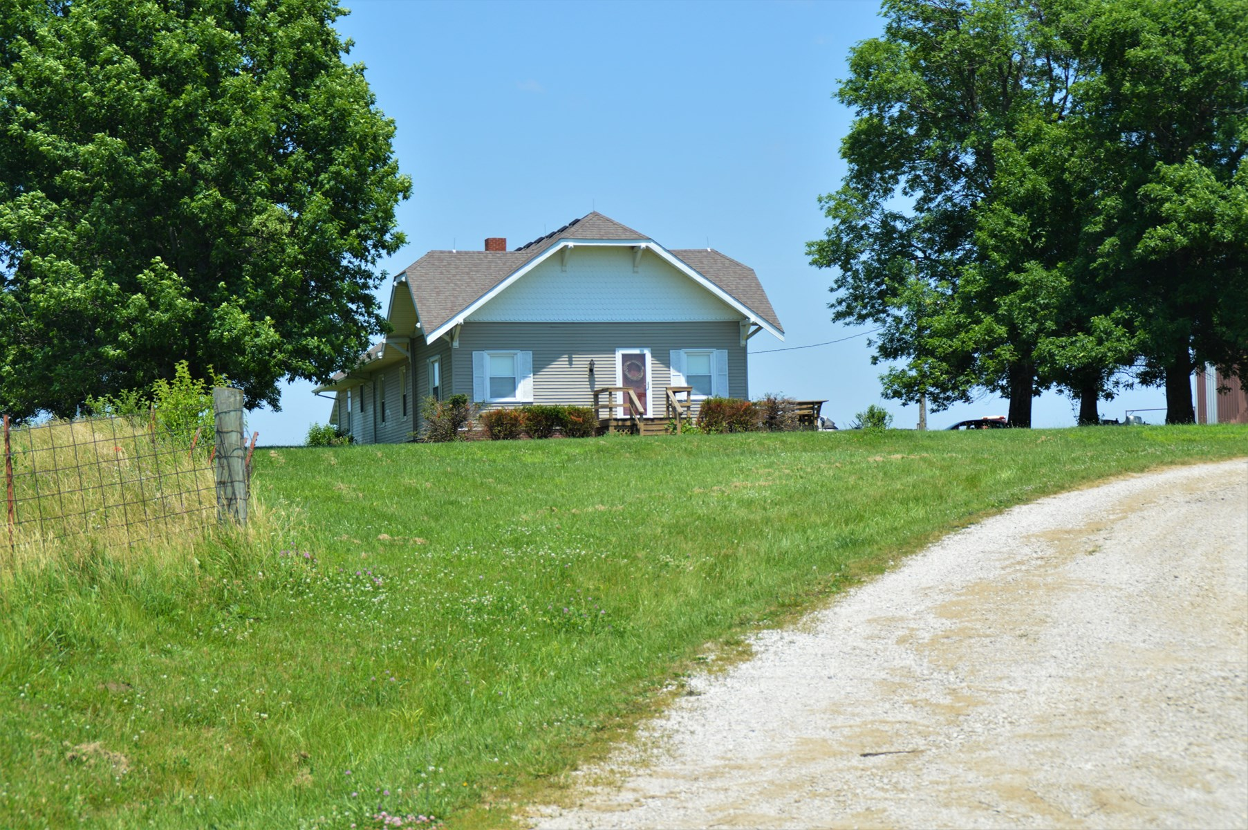 SULLIVAN COUNTY MO FARM WITH HOME AND IMPROVEMENTS