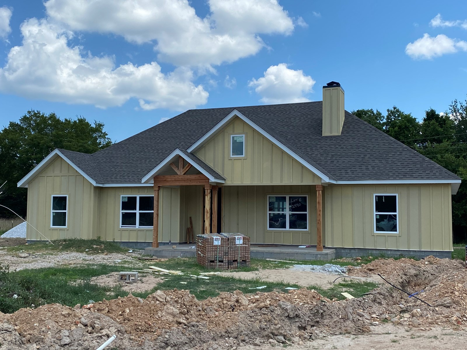 New Construction Home For Sale Across From Pea Ridge Park