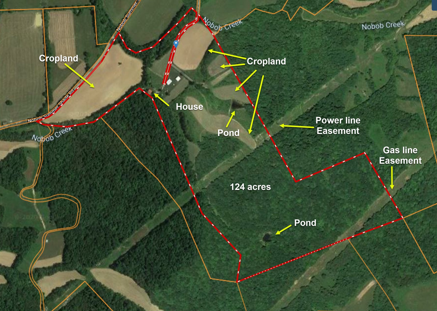 Perfect Hunting Property, Deer and Turkey, Creeks and Ponds