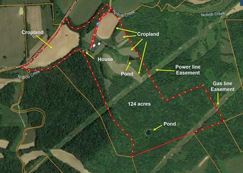 Kentucky Hunting  Creeks Ponds Timber Farmhouse Pasture Barn
