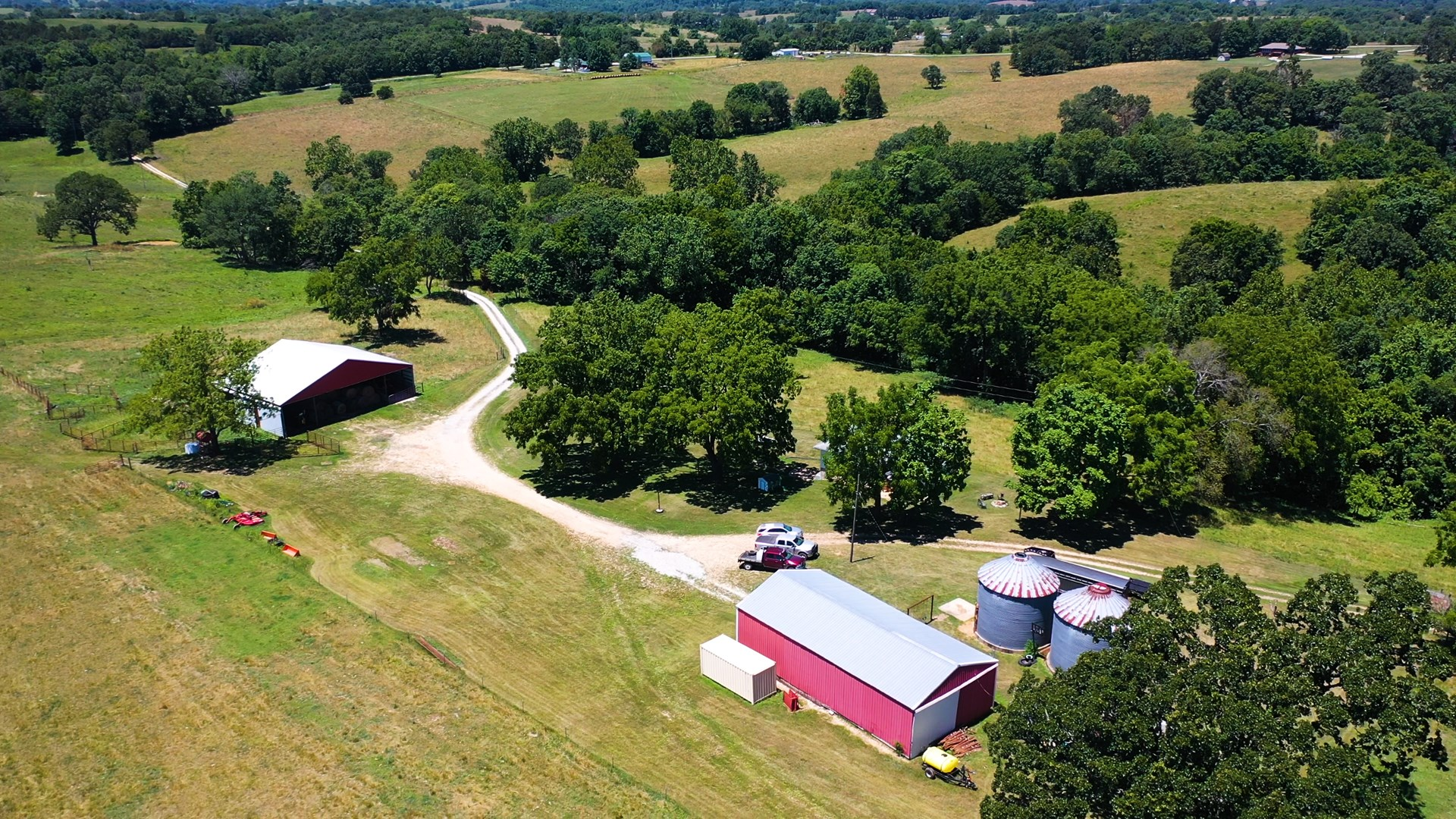 South Central Missouri Cattle Ranch and Grass Farm For Sale