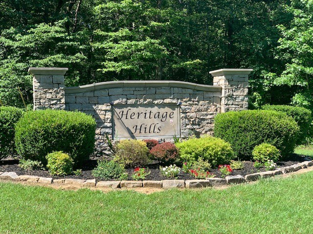 Building Lot for Sale in Heritage Hills, Lyles Tennessee