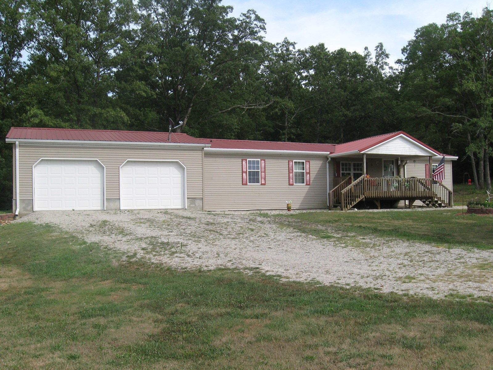Country Home w/ heated shop on 40 acres of land for sale