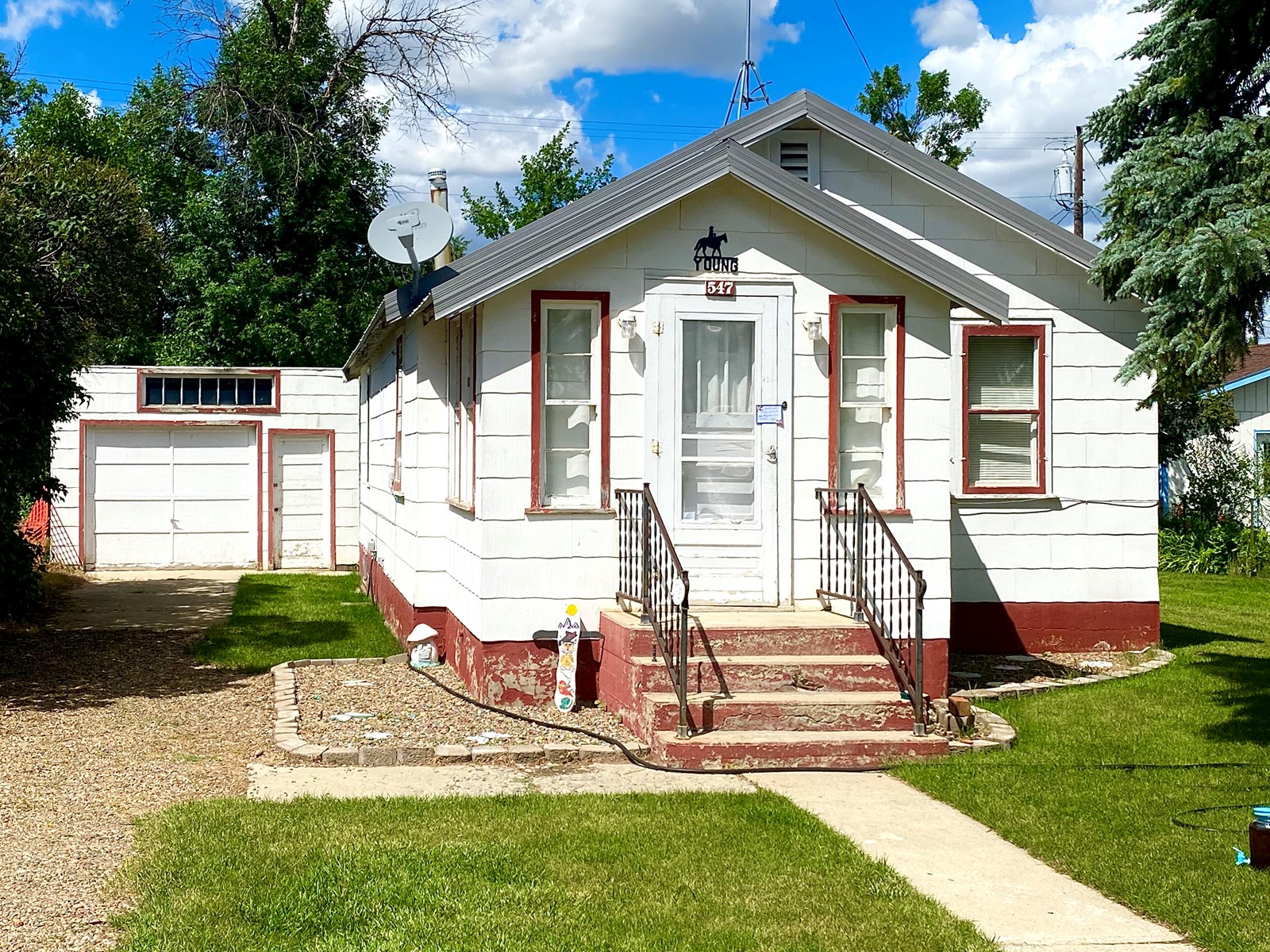 Investment Property, Home in Town, Long-Term Renter in Place