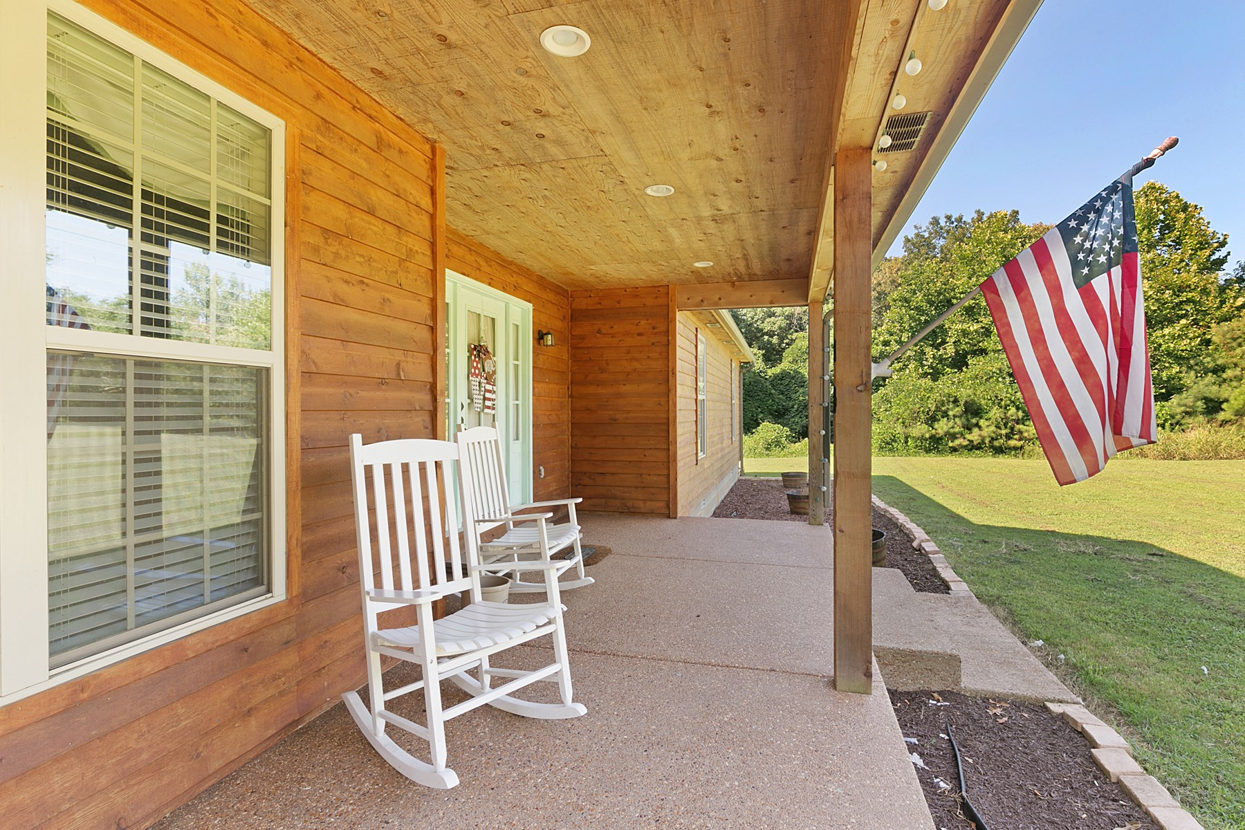 Cypress Sided Home on 4+/- acres For Sale near Lake  in TN