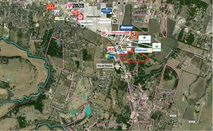 COMMERCIAL ACREAGE FOR SALE IN CENTRAL TEXAS - HWY FRONTAGE