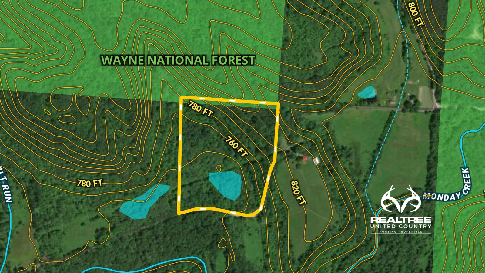 Ohio Hunting Land on Wayne National Forest