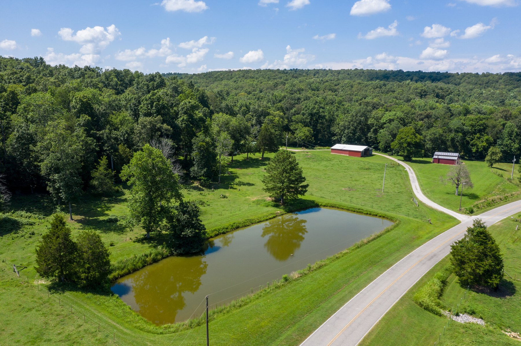 Tennessee Mini-Farm with Acreage & Hay Barn for Sale