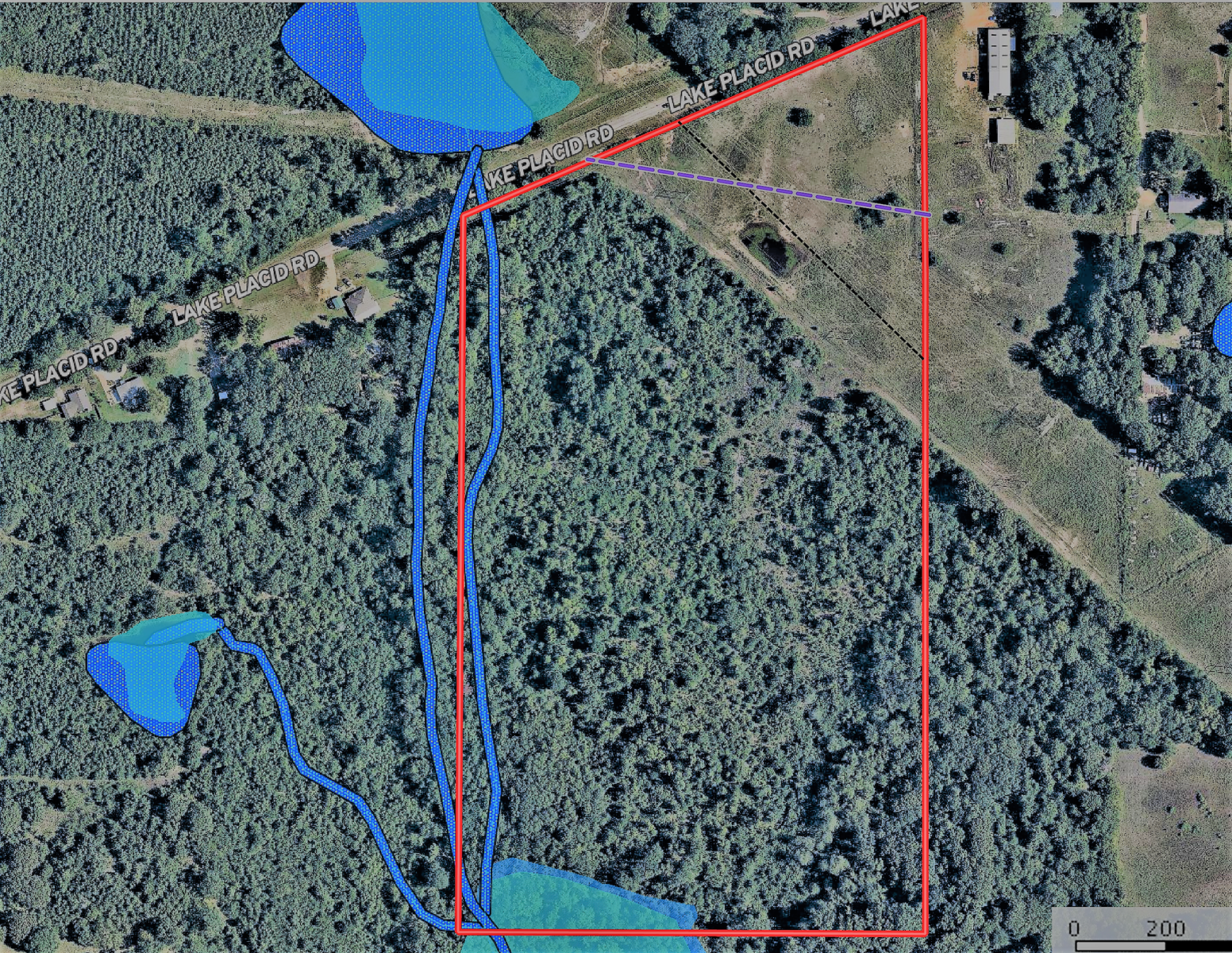 Land For Sale in East Texas in Tyler Smith County Texas