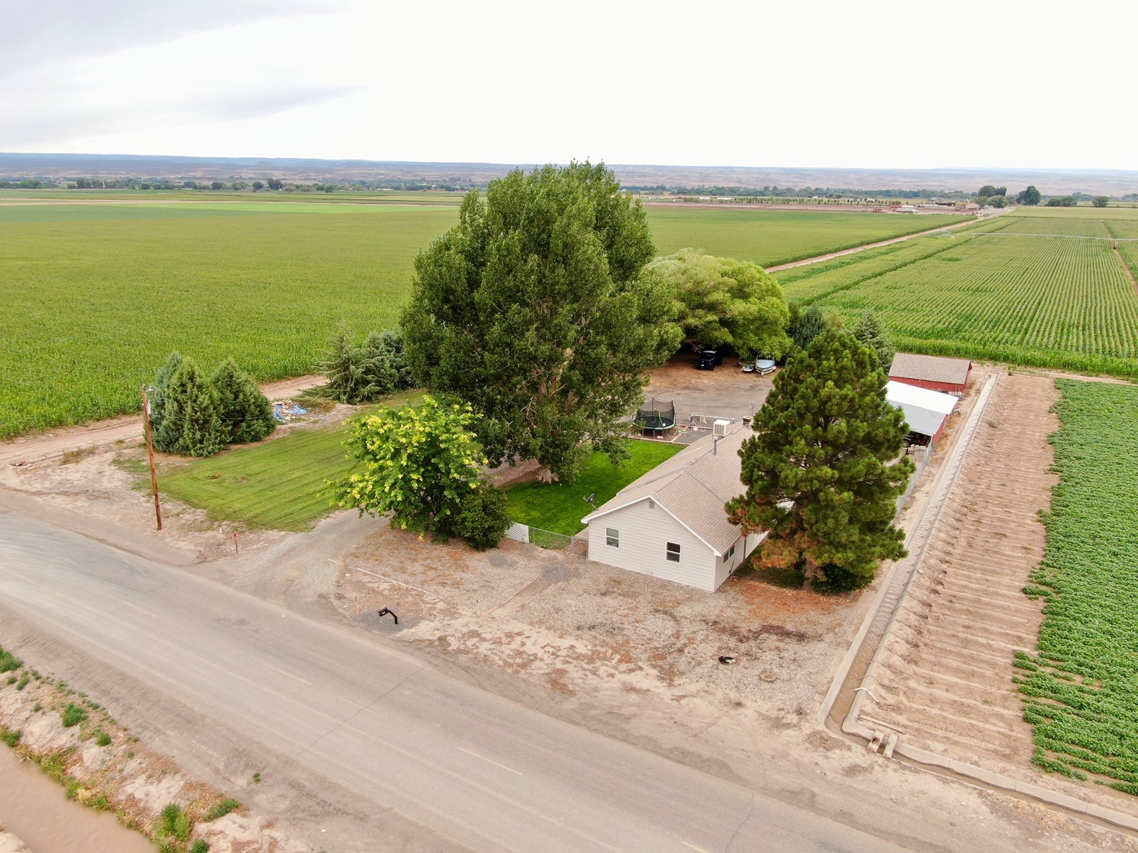 Country Home with Irrigation, Outbuildings for Sale Delta CO