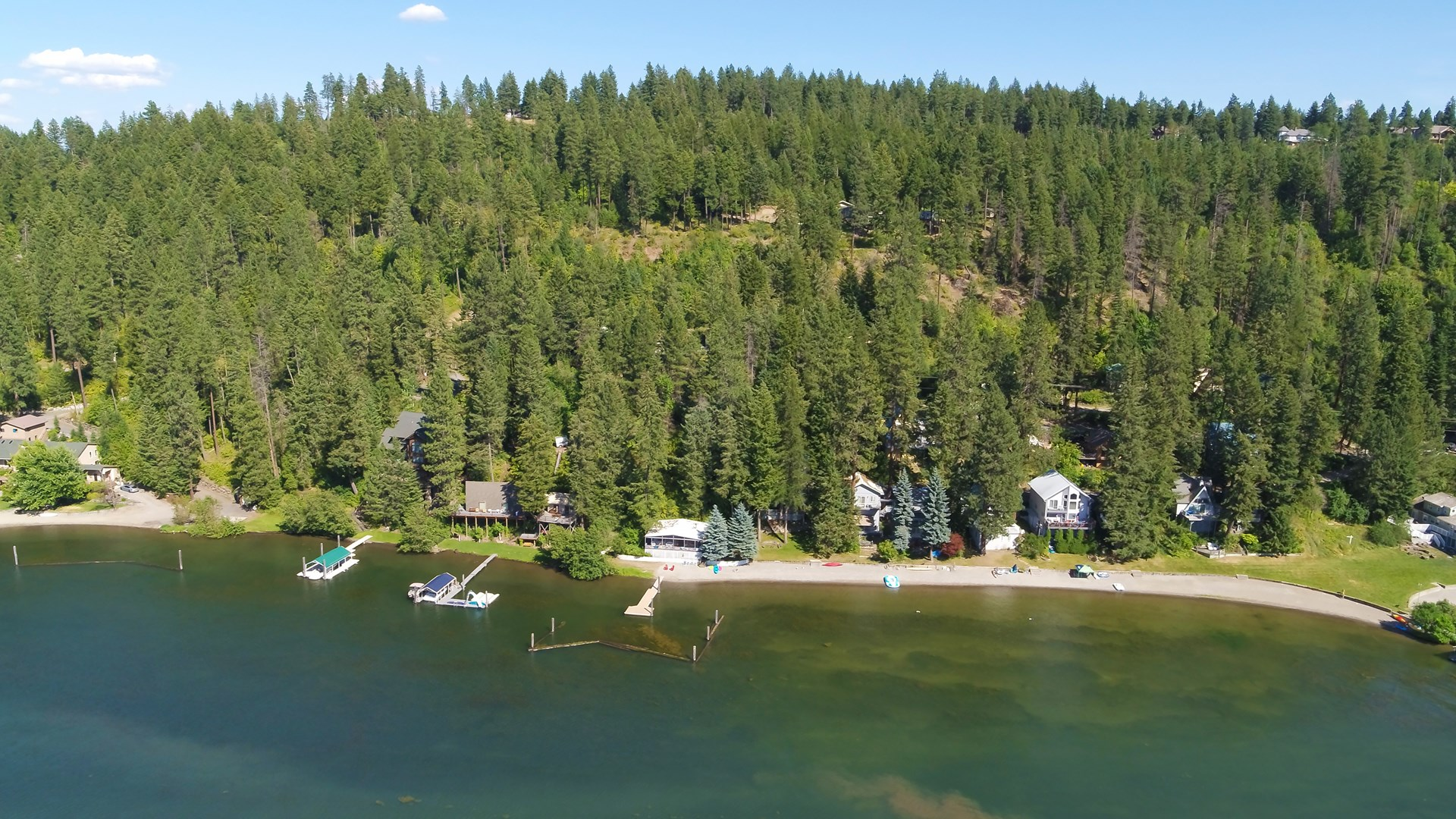6 Beautiful Acres Overlooking Lake Coeur d' Alene