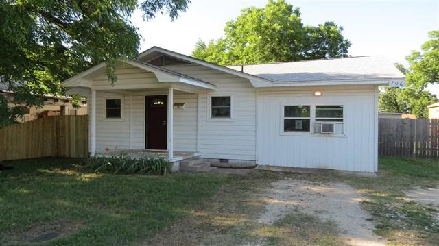 Affordable four bedroom home in Madill