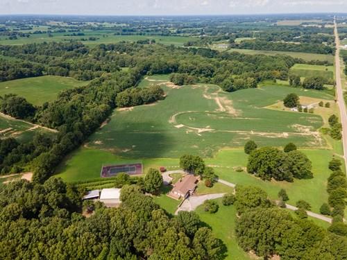 Crockett County, TN Farm, Recreational Land & Home For Sale