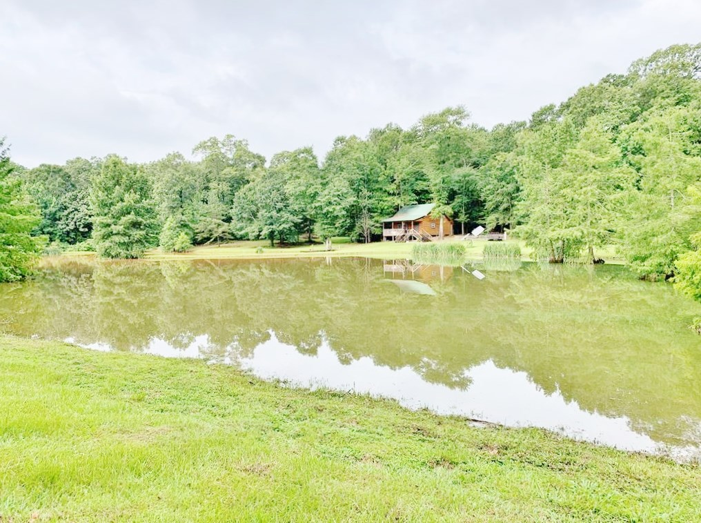 36 Acres, Off-grid Cabin with Lake for Sale Amite County, MS