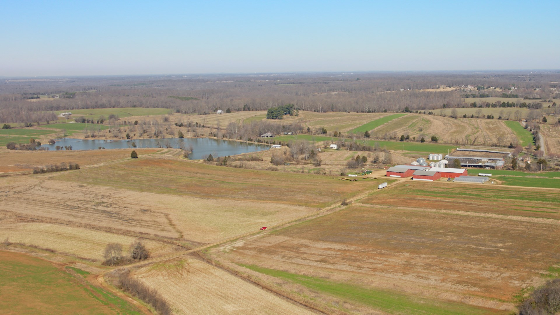 1,100 Contiguous Crop & Hunting Acres for Sale in TN