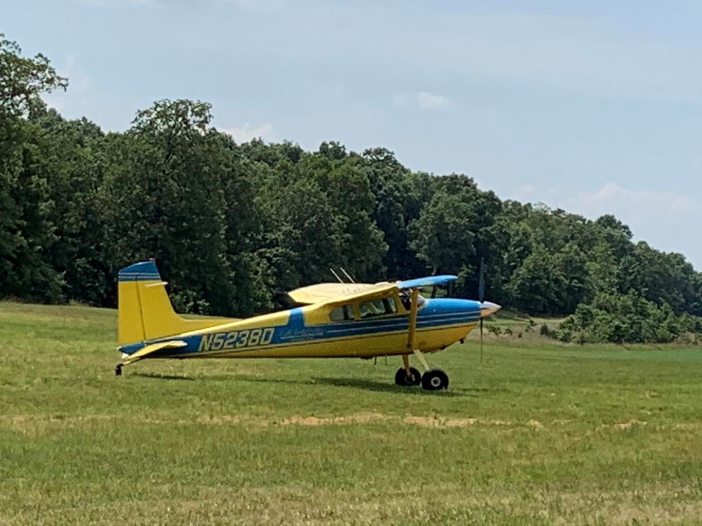 Lots 1 & 2 in Bull Shoals Acres with Private Air Strip