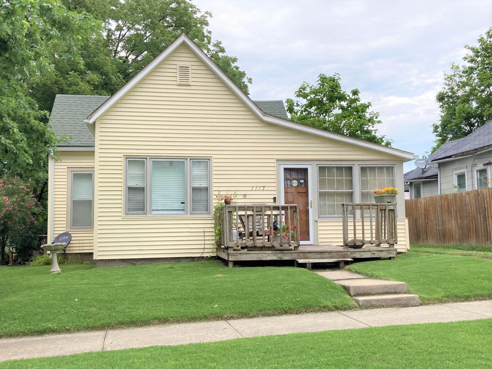 3 Bedroom, 1 Bath Adorable Home Priced To Sell!